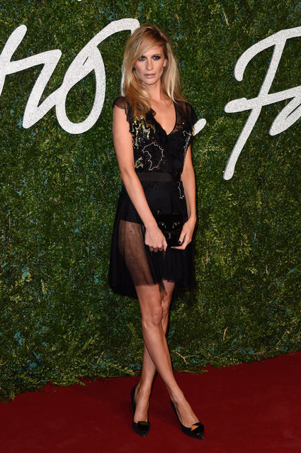 Poppy Delevingne attends the British Fashion Awards at London Coliseum on December 1, 2014 in London, England. (Photo by Pascal Le Segretain/Getty Images)