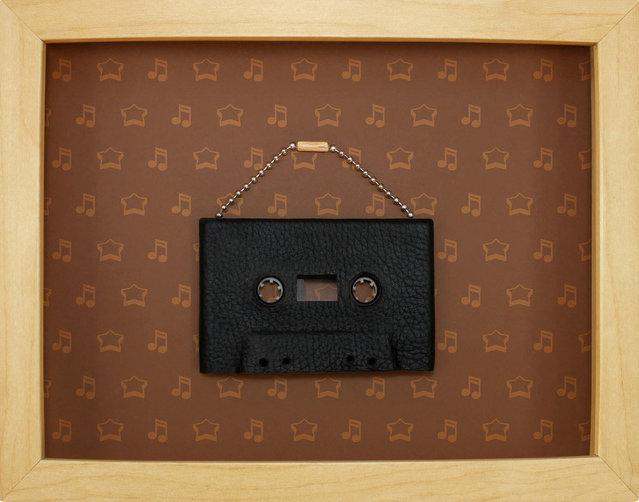 Cassette Tape Art By Benoit Jammes