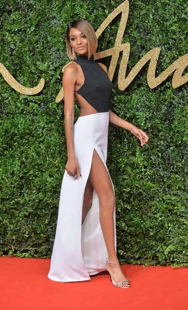 Jourdan Dunn attends the British Fashion Awards 2015 at London Coliseum on November 23, 2015 in London, England. (Photo by Anthony Harvey/Getty Images)
