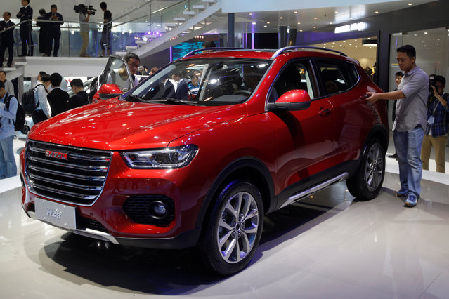 A Haval H2s SUV is shown at China (Guangzhou) International Automobile Exhibition in Guangzhou, China November 18, 2016. (Photo by Bobby Yip/Reuters)