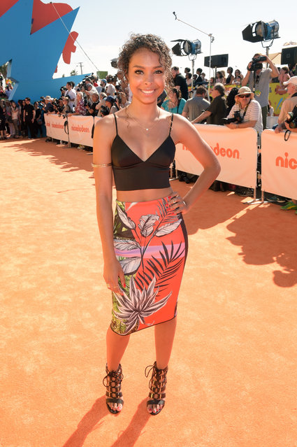 Actress Denisea Wilson attends Nickelodeon's 28th Annual Kids' Choice Awards held at The Forum on March 28, 2015 in Inglewood, California. (Photo by Jason Kempin/Getty Images)