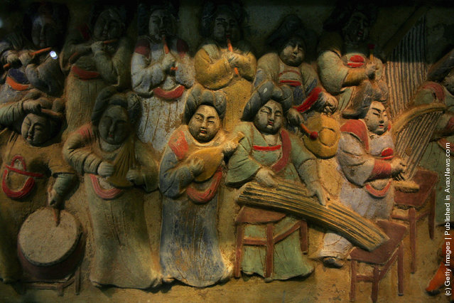 Chinese Music History Museum In Xian