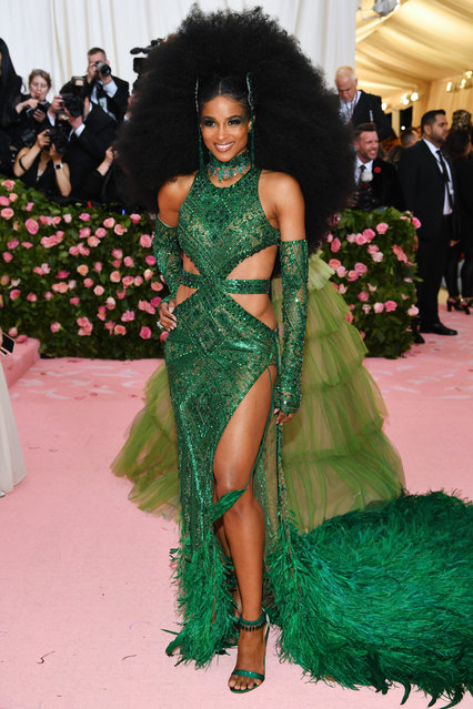 Ciara attends The 2019 Met Gala Celebrating Camp: Notes on Fashion at Metropolitan Museum of Art on May 06, 2019 in New York City. (Photo by Dimitrios Kambouris/Getty Images for The Met Museum/Vogue)