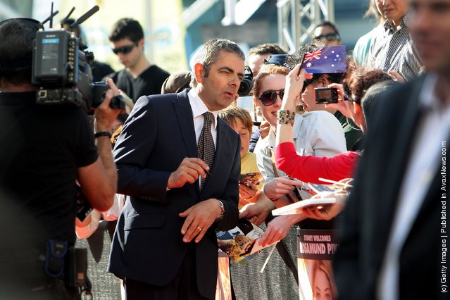 Rowan Atkinson, Johnny English Reborn World Premiere