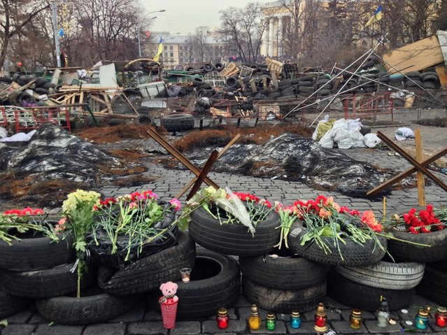 Maidan After Clashes
