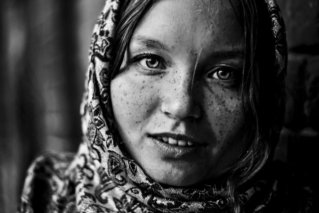 """Portrait of the Russian girl"". (Photo by Evgenija Mustafina)"