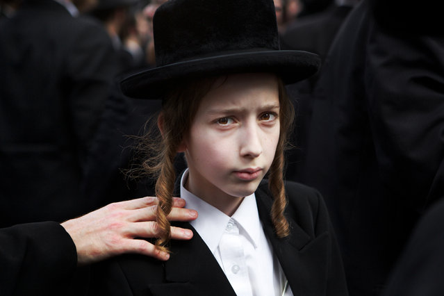 """""""Young Hasidic Jew"""". A young Hasidic Jew in Lower Manhattan, NY. (Photo and caption by Charles Meacham/National Geographic Traveler Photo Contest)"""