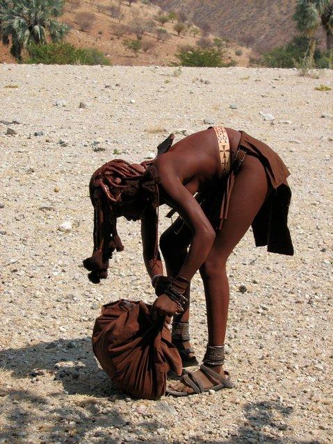 Himba Beauty Girl. Photo by Diego Fernández Domínguez