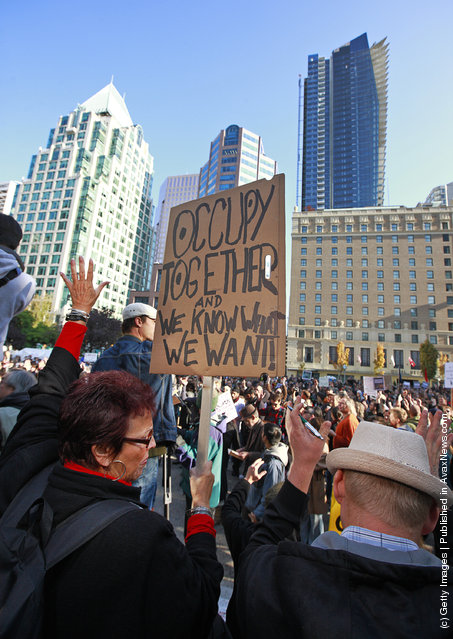 Wall Street Protests In Canada