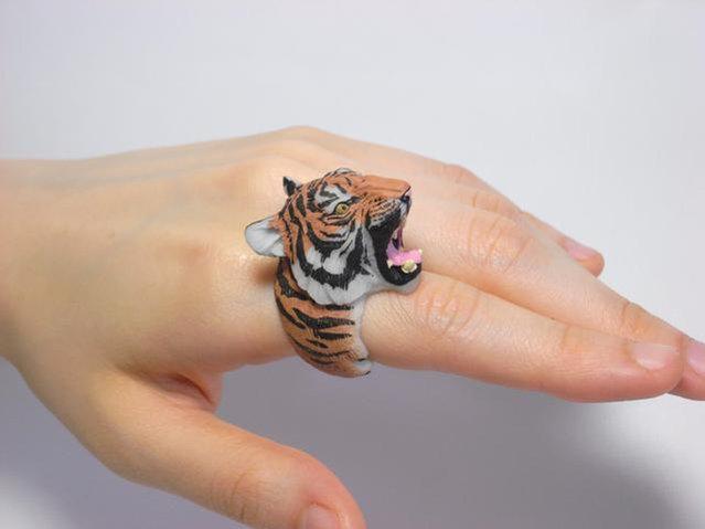 Animal Cling Rings By Jiro Miura