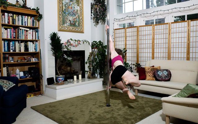 """""""Pole Dancing at Home"""" by Photographer Tom Sanders"""