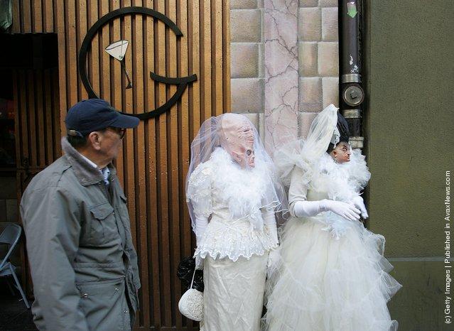 «Brides Of March» flash mob
