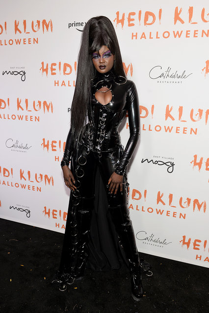 Duckie Thot attends Heidi Klum's 20th Annual Halloween Party presented by Amazon Prime Video and SVEDKA Vodka at Cathédrale New York on October 31, 2019 in New York City. (Photo by Noam Galai/Getty Images for Heidi Klum)