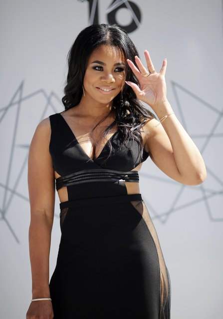 Actress Regina Hall arrives at the 2016 BET Awards in Los Angeles, California U.S. June 26, 2016. (Photo by David McNew/Reuters)