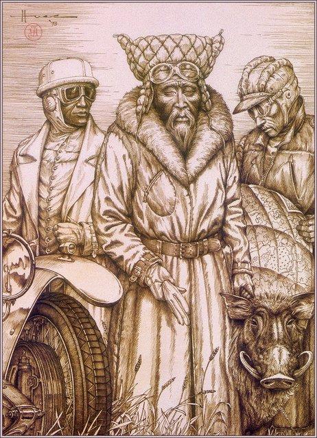 Judson Huss – The Mongol