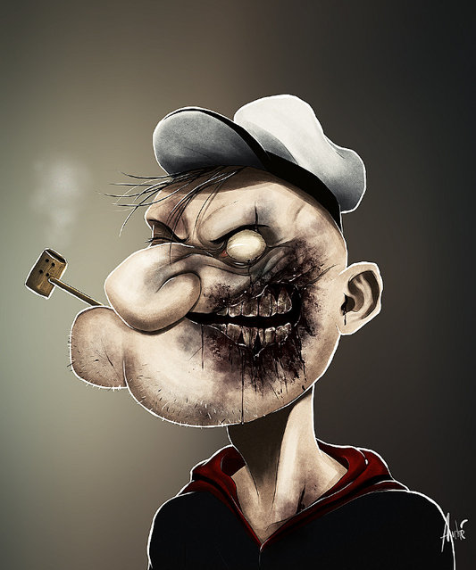 Zombie Portraits By Andre De Freitas