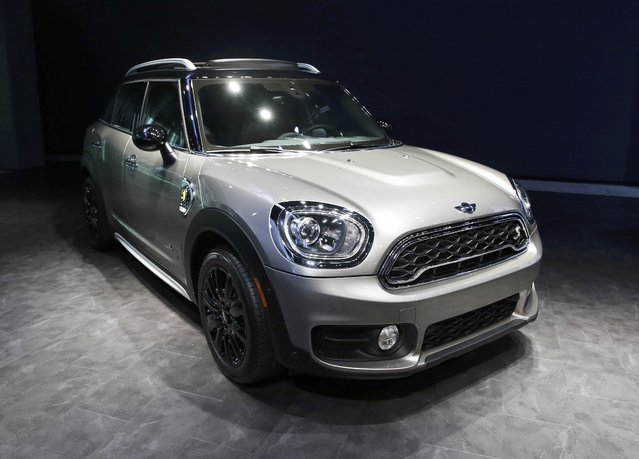 BMW AG introduces the 2017 electric Mini Countryman at the 2016 Los Angeles Auto Show in Los Angeles, California, U.S November 16, 2016. (Photo by Lucy Nicholson/Reuters)