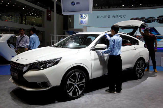 A Venucia T90 from Dongfeng Nissan is shown at China (Guangzhou) International Automobile Exhibition in Guangzhou, China November 18, 2016. (Photo by Bobby Yip/Reuters)