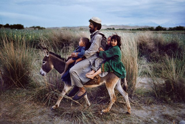 Maimana, Afghanistan, 2003. (Photo by Steve McCurry)