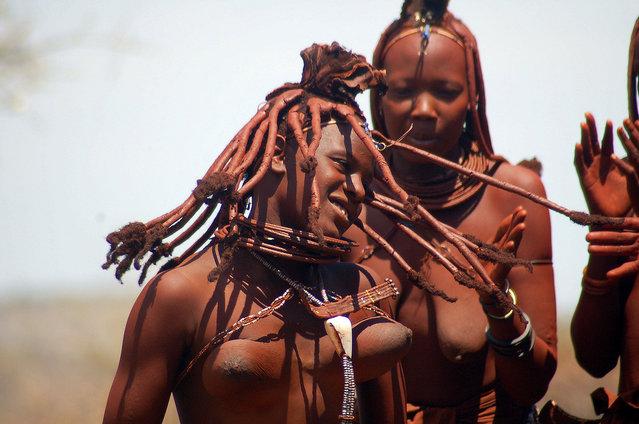 Himba Beauty Girl. Photo by Patricia Caldeira