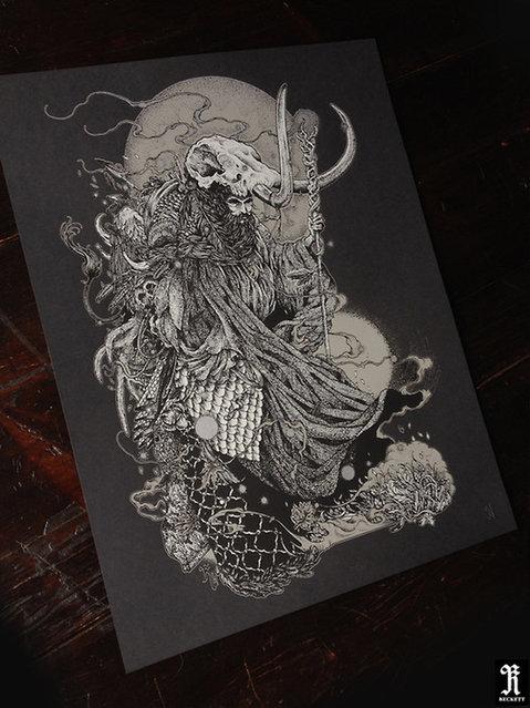 Drawing By Richey Beckett