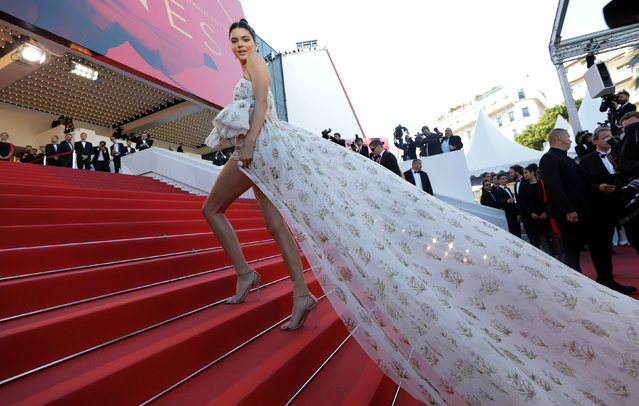 "Model Kendall Jenner attends the ""120 Battements Par Minutes (120 Beats Per Minute)"" screening during the 70th annual Cannes Film Festival at Palais des Festivals on May 20, 2017 in Cannes, France. (Photo by Eric Gaillard/Reuters)"