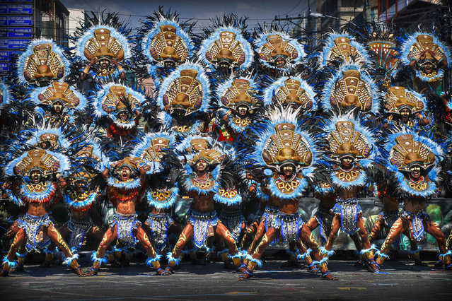 Annual celebration of Dinagyang festival of Iloilo, Philippines. (Photo by Raniel Jose Castañeda/Sony World Photography Awards)