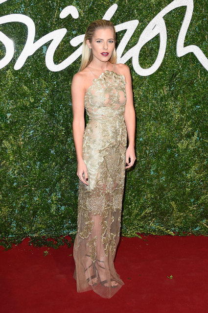 Molly King attends the British Fashion Awards at London Coliseum on December 1, 2014 in London, England. (Photo by Pascal Le Segretain/Getty Images)