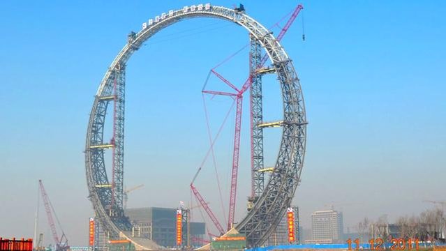 Ring of Life - The Amazing Metal Structure In Fushun China