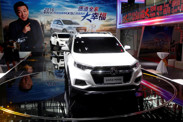 MX5 SUV by Zhengzhou Nissan is shown at China (Guangzhou) International Automobile Exhibition in Guangzhou, China November 18, 2016. (Photo by Bobby Yip/Reuters)