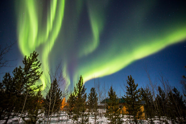 Aurora photography is a photo discipline that is unlike any other in that the subject is different every time. (Photo by Neil Zeller/Caters News)