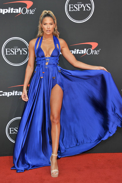 Kelly Kelly attends the 2019 ESPY Awards at Microsoft Theater on July 10, 2019 in Los Angeles, California. (Photo by Allen Berezovsky/WireImage)