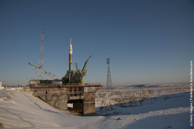 Soyuz TMA-03M Flight To International Space Station