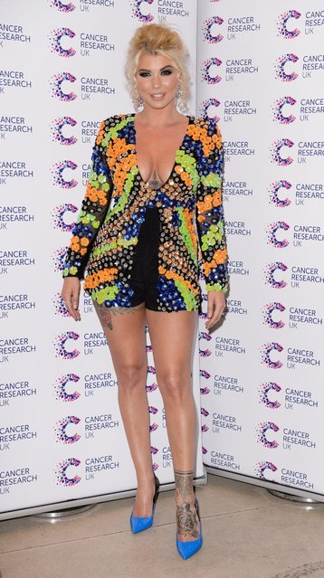 Olivia Buckland attends James Ingham's Jog-On to Cancer part 5 at Kensington Roof Gardens on April 12, 2017 in London, England. (Photo by Beretta/Sims/Rex Features/Shutterstock)