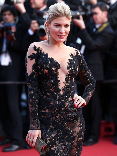 """Hofit Golan attends the """"How To Train Your Dragon 2"""" premiere during the 67th Annual Cannes Film Festival on May 16, 2014 in Cannes, France. (Photo by Andreas Rentz/Getty Images)"""