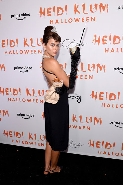 Georgia Fowler attends Heidi Klum's 20th Annual Halloween Party presented by Amazon Prime Video and SVEDKA Vodka at Cathédrale New York on October 31, 2019 in New York City. (Photo by Noam Galai/Getty Images for Heidi Klum)