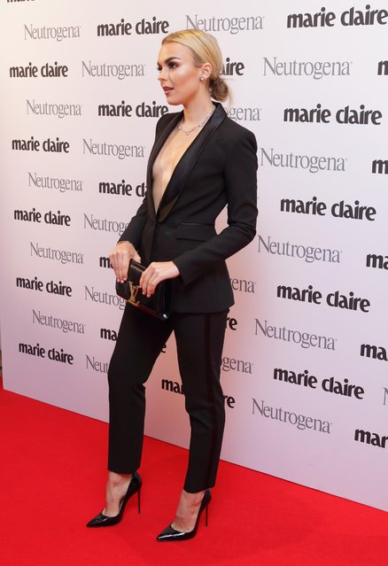 Tallia Storm attends the Marie Claire Future Shapers Awards drinks reception at One Marylebone on September 26, 2017 in London, England. (Photo by Flynet Pictures)