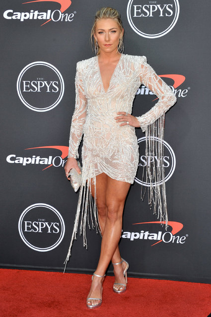 Mikaela Shiffrin attends the 2019 ESPY Awards at Microsoft Theater on July 10, 2019 in Los Angeles, California. (Photo by Allen Berezovsky/WireImage)