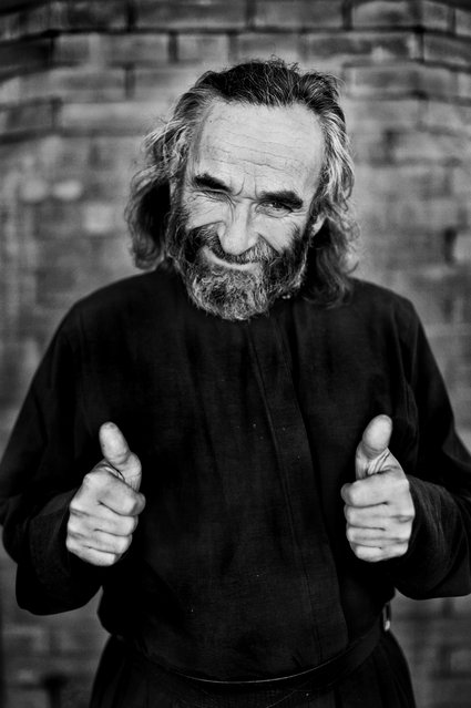"""Monk Peter"". (Photo by Andrej Rassanov)"