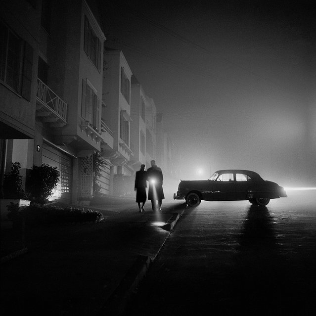 Foggy Night at Land's End, 1953. (Photo by Fred Lyon)