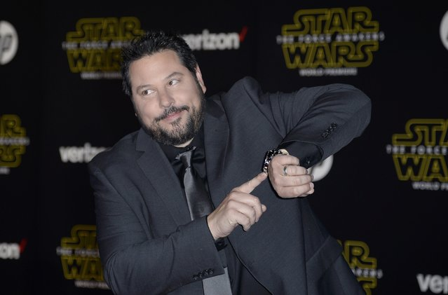 "Actor Greg Grunberg arrives at the premiere of ""Star Wars: The Force Awakens"" in Hollywood, California December 14, 2015. (Photo by Kevork Djansezian/Reuters)"
