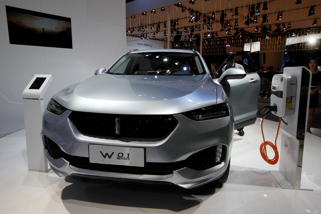 A W01 of Wey brand by Great Wall Motor is displayed at China (Guangzhou) International Automobile Exhibition in Guangzhou, China November 18, 2016. (Photo by Bobby Yip/Reuters)