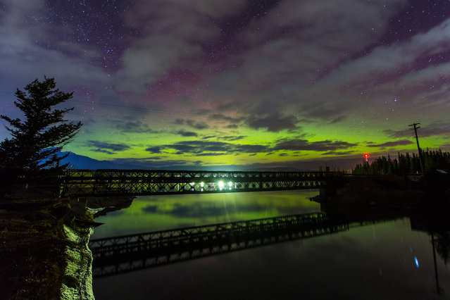 """The photographer, from Calgary, Alberta, admitted he has always been a """"night person"""", becoming interested in night photography around 10 years ago. (Photo by Neil Zeller/Caters News)"""