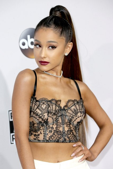 Recording artist Ariana Grande attends the 2016 American Music Awards at Microsoft Theater on November 20, 2016 in Los Angeles, California. (Photo by Frederick M. Brown/Getty Images)