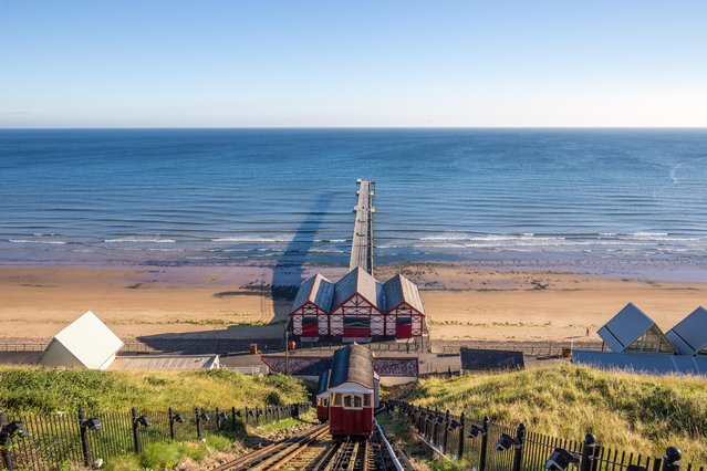 Saltburn-by-the-Sea, August 26, 2016. (Photo by Dave Zdanowicz/Rex Features/Shutterstock)