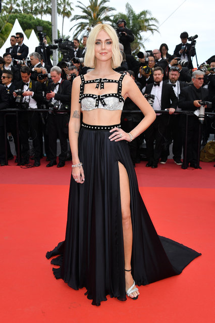 "Chiara Ferragni attends the screening of ""Once Upon A Time In Hollywood"" during the 72nd annual Cannes Film Festival on May 21, 2019 in Cannes, France. (Photo by Pascal Le Segretain/Getty Images)"
