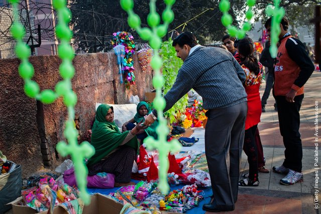 Christians Celebrate Christmas In New Delhi