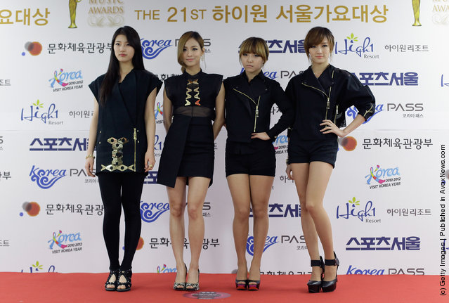 South Korean girl group Miss A
