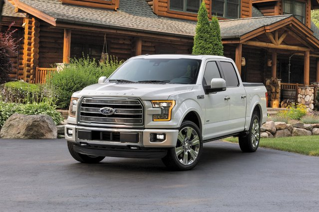 The 2016 Ford F-150 Limited is shown in this recent photo released by Ford Motor Company on July 20, 2015. (Photo by Reuters/Ford Motor Company)