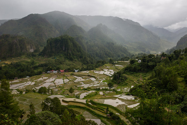 General view of Toraja , South Sulawesi, Indonesia on August 15, 2016. (Photo by Agung Parameswara/The Washington Post)
